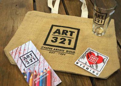 Art 321 Shwag Bag Giveaway