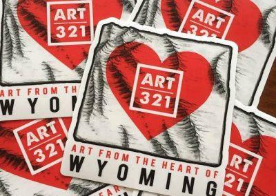 Art 321 Stickers