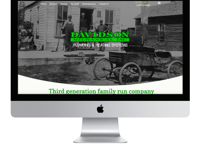 Davidson Mechanical Website Design