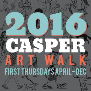 Casper Art Walk Logo 2016