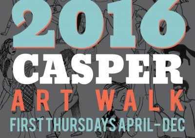 Casper Art Walk Logo 2016