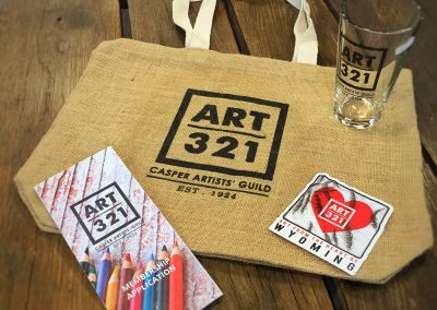 Art 321 Shwag Bag Giveaway