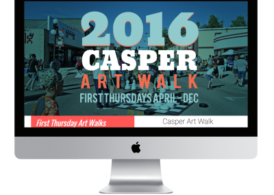 Casper Art Walk Website Design