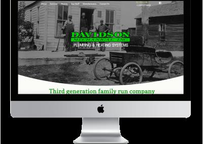Davidson Mechanical Website Design
