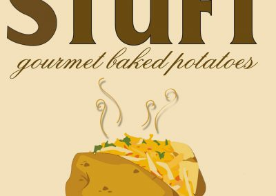 Stuft Gourmet Baked Potatoes Logo