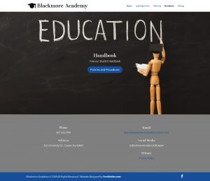 Blackmore Academy Handbook