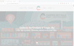 Casper Art Walk Homepage