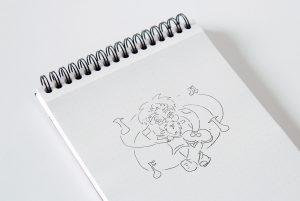 Musical Genius Idea Sketches