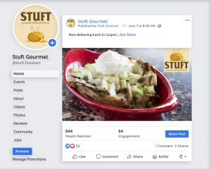 Stuft Gourmet Baked Potatoes Facebook Image Two
