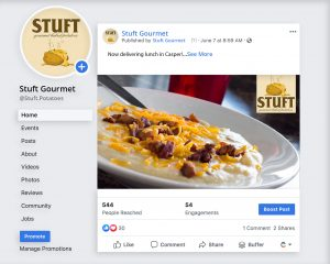 Stuft Gourmet Baked Potatoes Facebook Image Three