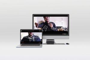 Transit Hip Hop Mockup on Computers